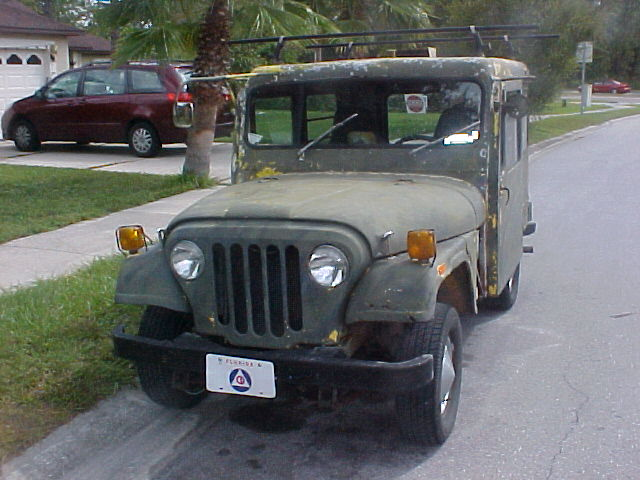Real Piece Of Rust From Dj 5c 1974 Postal Jeep Free S H